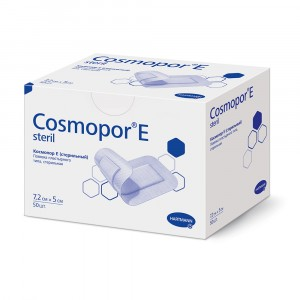 Самоклеящаяся послеоперационная повязка Cosmopor E 7,2 х 5 см (50 шт)