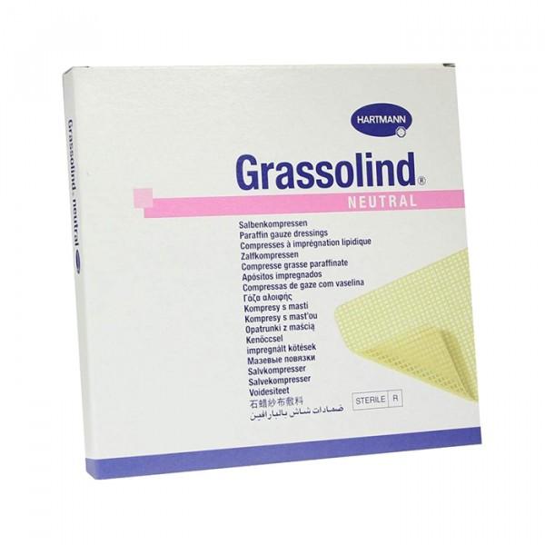 Мазевая повязка GRASSOLIND 10 х 10 см