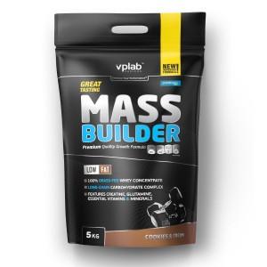 Гейнер Mass Builder 5000 гр. (печенье-крем)