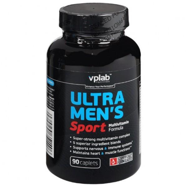 Витаминно-минеральный комплекс Ultra Mens Sport VPLab 90 капс.